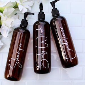 Bathroom Bottles | Signature | Sassy & Arbee