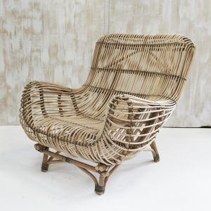 Bayu Oversized Rattan Armchair | Custom Made