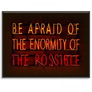 Be Afraid | Canvas or Print by Artist Lane