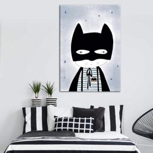Be Batman | Canvas Print By United Interiors