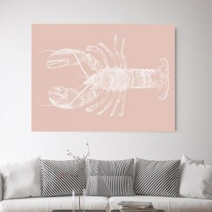 Be My Lobster 2 | Canvas Wall Art by Beach Lane