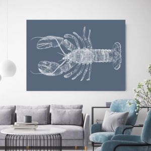 Be My Lobster | Canvas Wall Art by Beach Lane