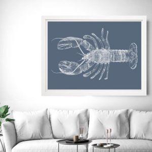 Be My Lobster | Framed Wall Art by Beach Lane