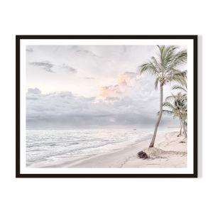 Beach Clouds | Framed Print by Artefocus