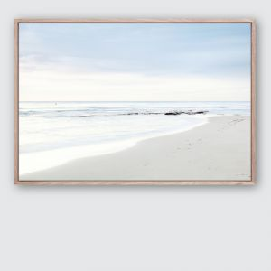 Beach Days #1 | Framed Premium Canvas Print