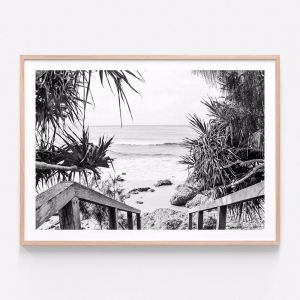 Beach Hideaway | Framed Print | 41 Orchard