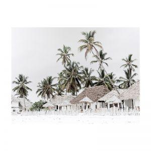 Beach Hut | Rolled Art Print | Various Sizes