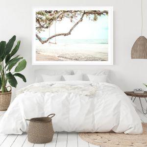 Beach Swing I Photo Art Print (Various Sizes)