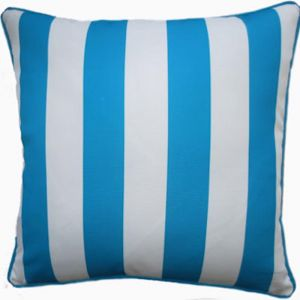 Beaut Blue Stripe Outdoor Cushion Cover