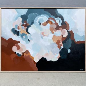 Beautiful Day 2 | Original framed artwork by Lauren Danger