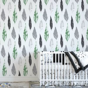Beleaf In Yourself - Nature's Child | Eco Wallpaper | Green | Amba Florette