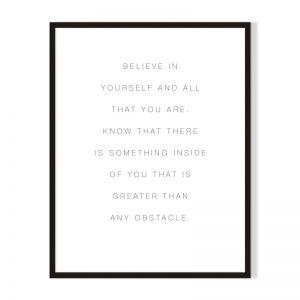 Believe | Framed Print | Artefocus