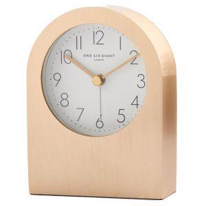 Bella | Champagne Gold Silent Alarm Clock