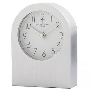 Bella | Silver Silent Alarm Clock