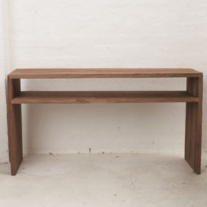 Beni Console with Shelf l Custom Made
