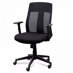 Benson Mesh Office Chair   Black