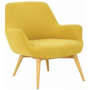 BERLINGO Lounge Chair - Yellow