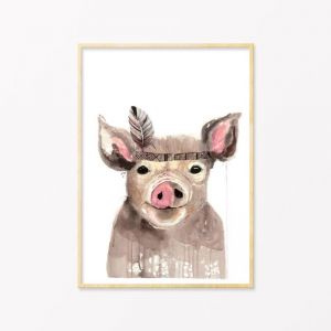Bert | Art Print by Grotti Lotti
