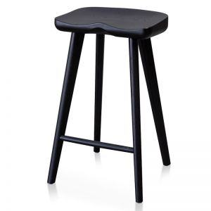 Bethan Bar Stool | Black | Interior Secrets