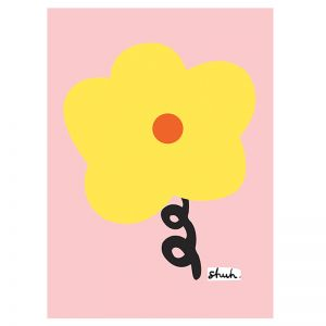 Big Flower   A5 Print