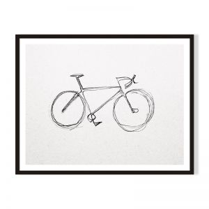 Bike | Framed Print | Artefocus