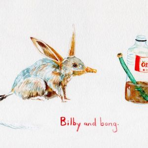 Bilby | Original Watercolour Artwork