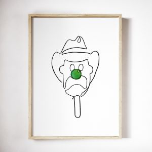 Bill | Art Print | Framed or Unframed