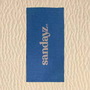 Billie Blue | Beach Towel with sand pockets | Micro fibre
