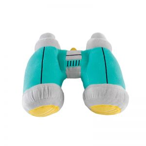 Binoculars Plush Toy Cushion by Kas Australia