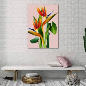 Birds Of Paradise | Canvas Print| by United Interiors