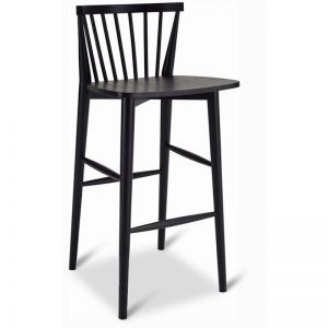 BIRDY Bar Chair Stool - Black