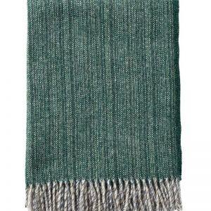 Bjork Wool Blanket | Forest Green