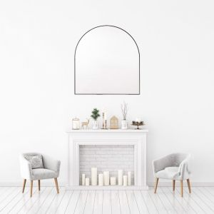 Bjorn Arched Mirror | Various Colours