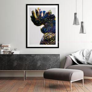 Black and Gold Left | Framed Art Print