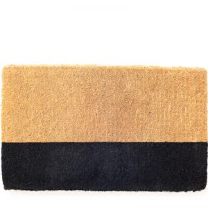 Black Belt Doormat | 100% Coir | 45 x 75cm