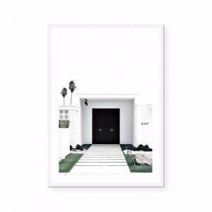 Black Door | Portrait | Art Print