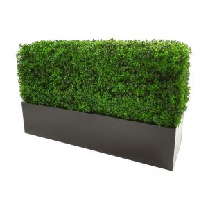 Black Metal Planter | Small 83cm Long