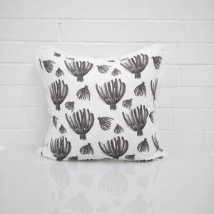 Black Palms Cushion I Jak & Co Design