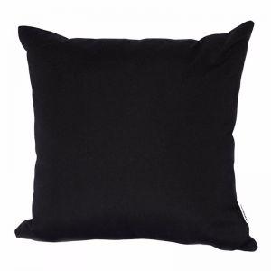 Black | Sunbrella Fade and Water Resistant Outdoor Cushion | Outdoor Interiors