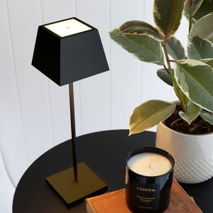 Black Table Lamp | LITHIUM 3