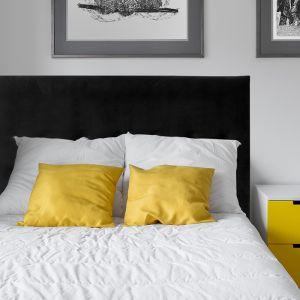 Black Velvet Smooth Upholstered Bedhead | All Sizes | Custom Made by Martini Furniture