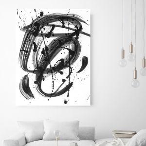 Black & White Dreams | Canvas Wall Art