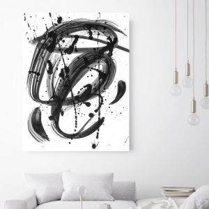 Black & White Dreams | Canvas Wall Art by Beach Lane