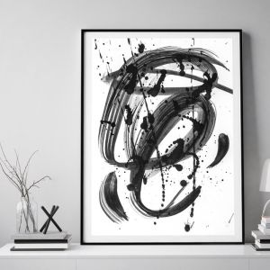 Black & White Dreams | Framed Wall Art by Beach Lane