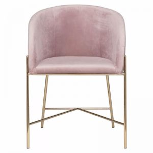 Blaire Dining Chair in Blush | freedom