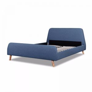 Blanca Queen Sized Bed Frame | Yale Blue