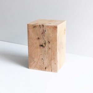Block Stool | Wooden