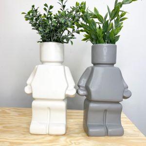 Blockman Planter | Various Colours