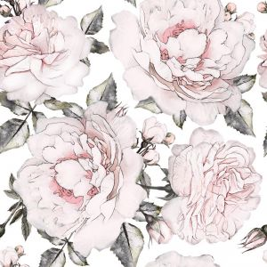 Blooming Peonies Wallpaper
