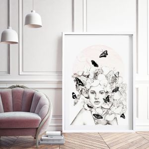 Blossom | Lost Sisters Collection | Limited Edition Print by 4 The Love of Paris